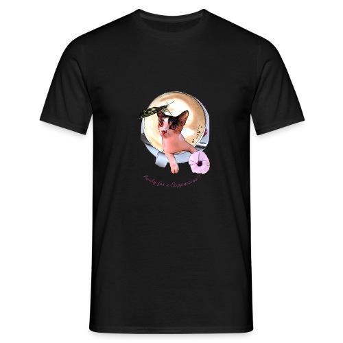 Ready for a cappuchino? - Men's T-Shirt
