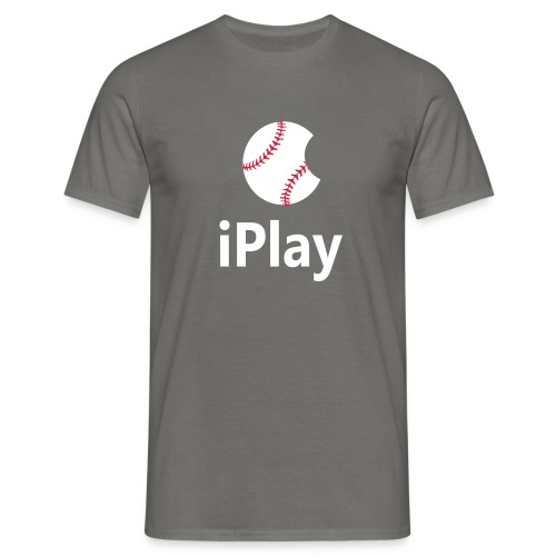 Baseball Logo iPlay - Men's T-Shirt