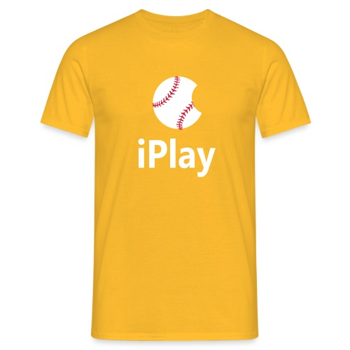 Baseball Logo iPlay - Men's T-Shirt