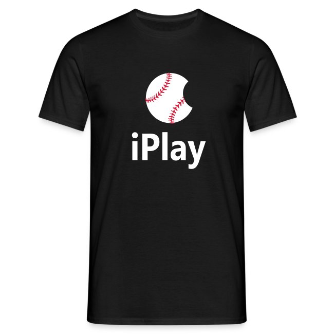 "Baseball Logo ""iPlay"""
