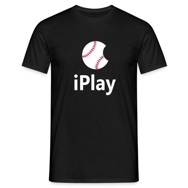 "Baseball Logo ""iPlay"""
