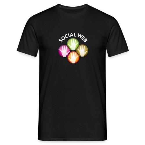 social web - Men's T-Shirt