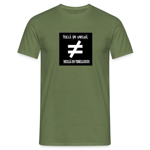 todellisuus - Miesten t-paita