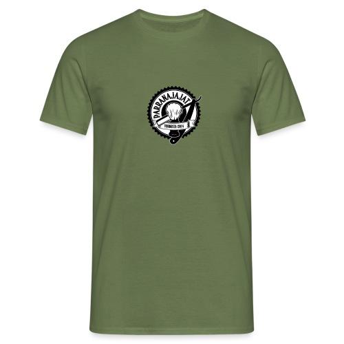 PARRANAJAJAT_logo-black - Miesten t-paita