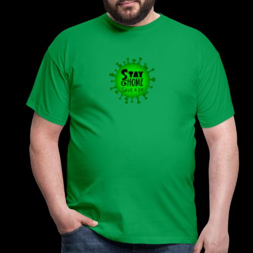 stay at home 5011005 960 720 - Men's T-Shirt