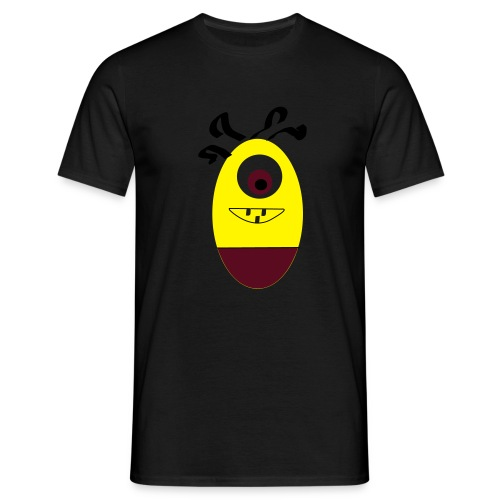 Gult æg - Herre-T-shirt