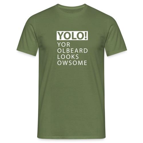 YOLO Yor Olbeard - Mannen T-shirt