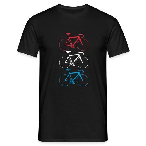 velo roud waiss blo png - Männer T-Shirt