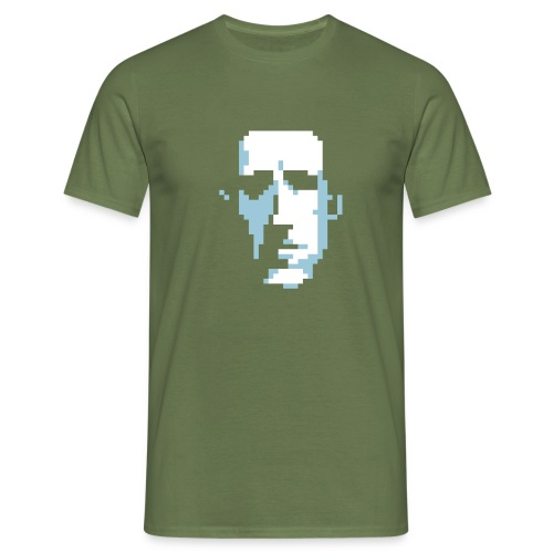 Pixel Lovecraft 2 tintas - Men's T-Shirt
