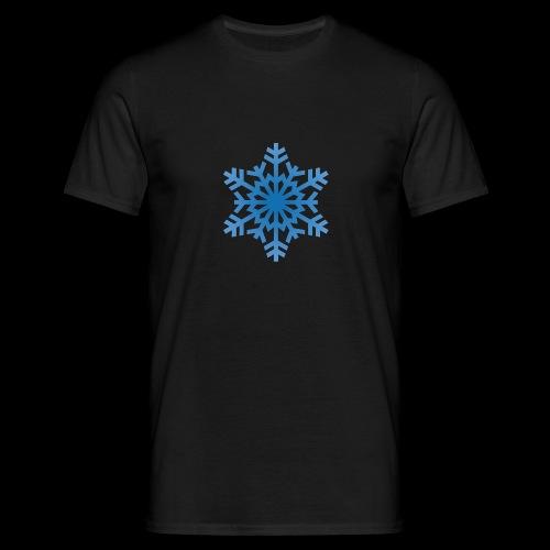 Snowflake - Herre-T-shirt
