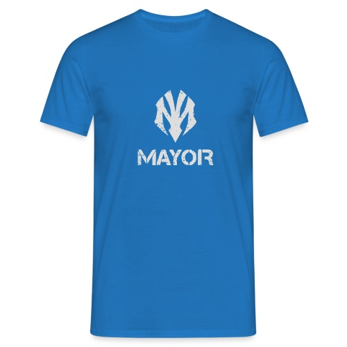 MAYOR LOGO COMPLETE - Männer T-Shirt