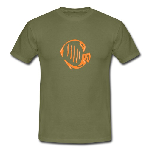 Aquarium Adventures Logo - Men's T-Shirt