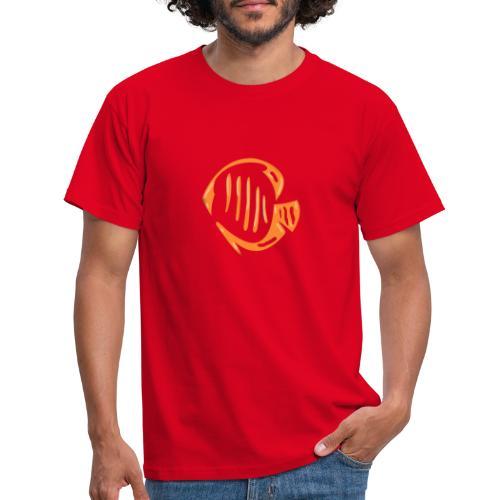 Aquarium Adventures Logo - Men's T-Shirt