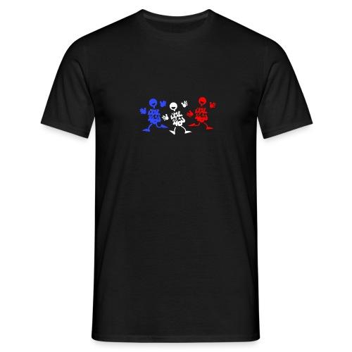 L'été bleu blanc rouge - T-shirt Homme