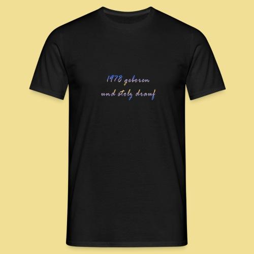 1978 - Männer T-Shirt
