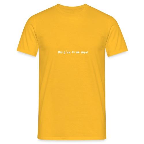 Die Lzz - Herre-T-shirt