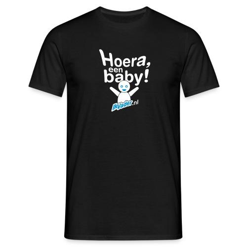HoeraB distort2 - Mannen T-shirt