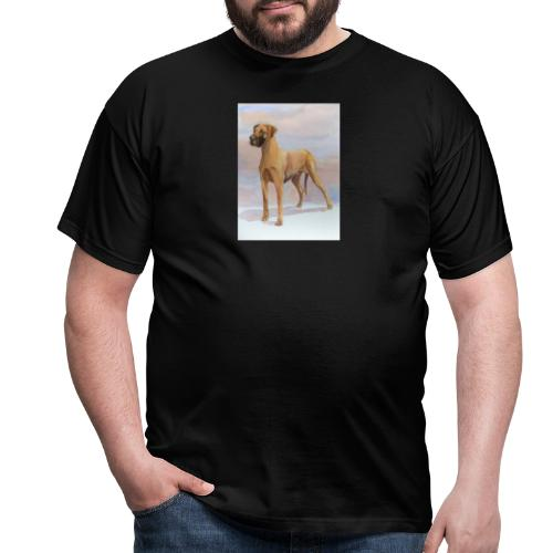 Great Dane Yellow - Herre-T-shirt