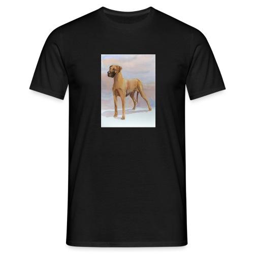 Great Dane Yellow - Herre-T-shirt
