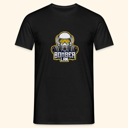 BOMBER LAN Logo - Männer T-Shirt