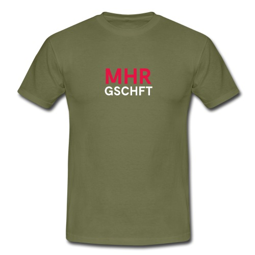 MHR GSCHFT - Männer T-Shirt