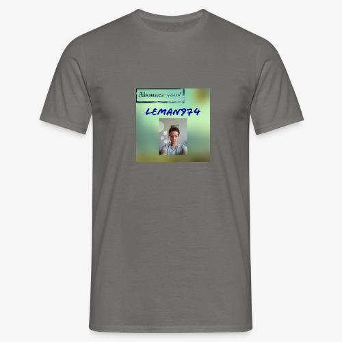 Leman974 logo - T-shirt Homme