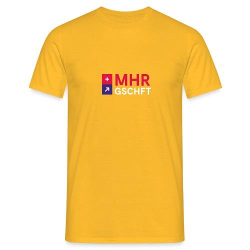 MHR GSCHFT mit Logo - Männer T-Shirt
