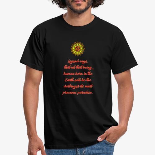 SOLRAC Legend Says Black - Camiseta hombre