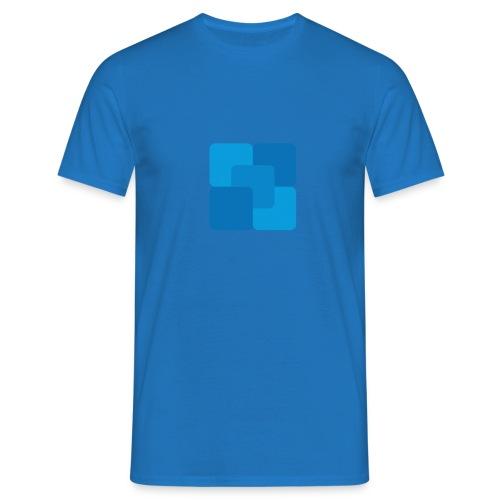 Firkantet væske - Herre-T-shirt