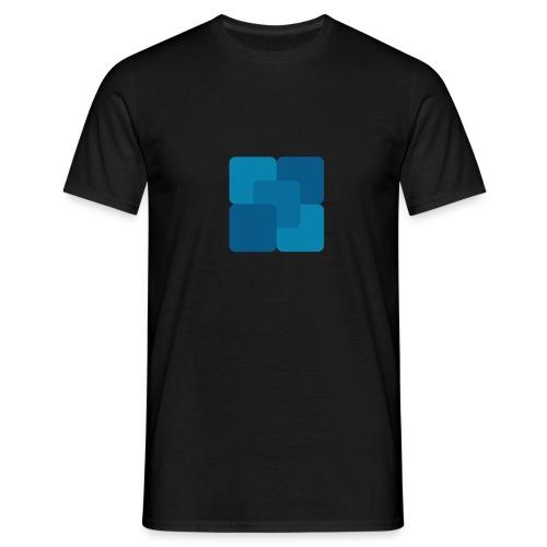 Kwadratowy płyn - Koszulka męska