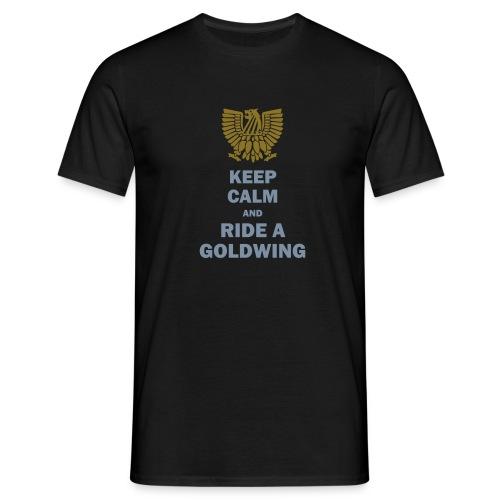 keep calm - ride a wing - Männer T-Shirt