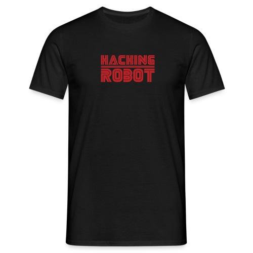 Mr. Robot - Hacking Robot - Men's T-Shirt