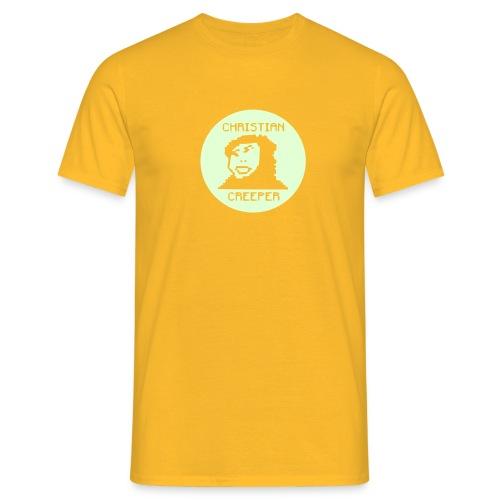Christian creeper Borja Jesus Yellow - Koszulka męska