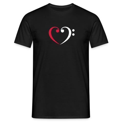 wr lb heart - Männer T-Shirt