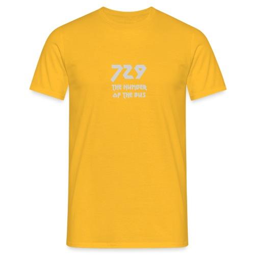 729 grande grigio - Maglietta da uomo