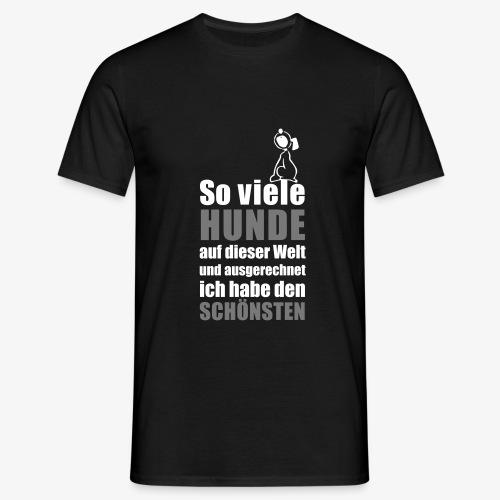 Der schönste HUND - Männer T-Shirt