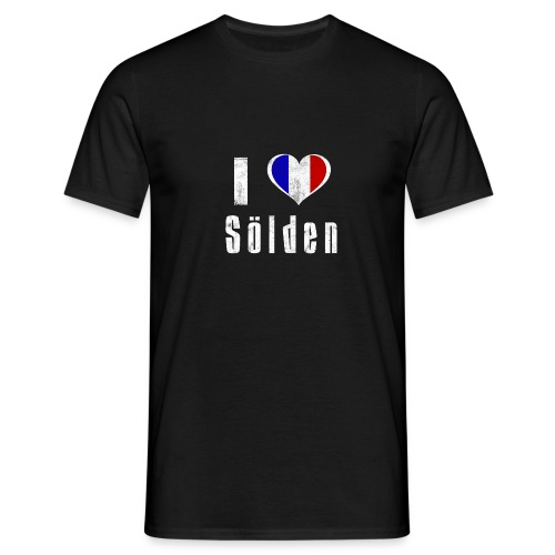 I love Sölden (France) - Männer T-Shirt