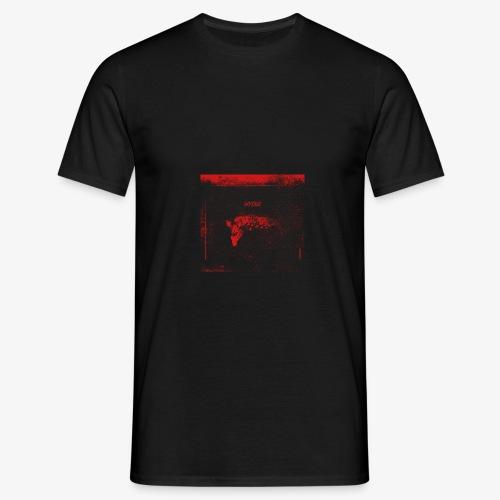 Hyena Red - T-shirt herr