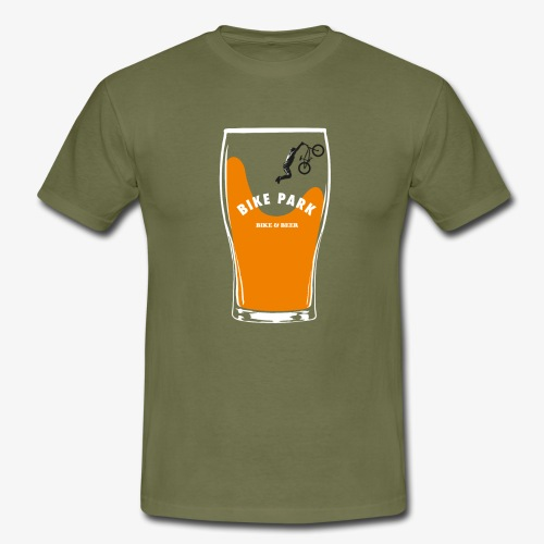 Beer Bike Park - T-shirt Homme