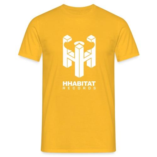 HHabitat Records Logo - Maglietta da uomo
