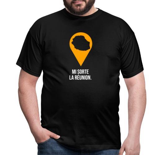 Mi sorte la réunion - T-shirt Homme