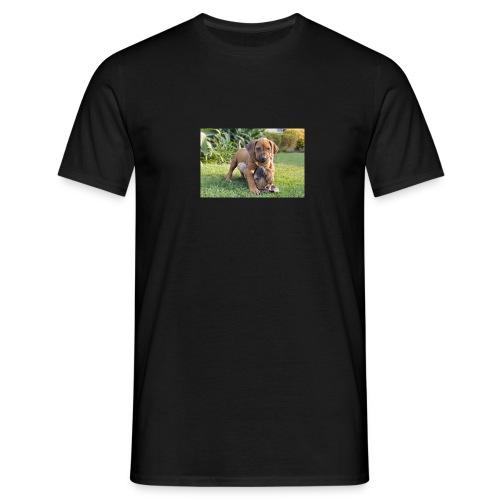 adorable puppies - Men's T-Shirt