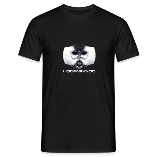 HQ Gaming Logo mit Schriftzug - Männer T-Shirt