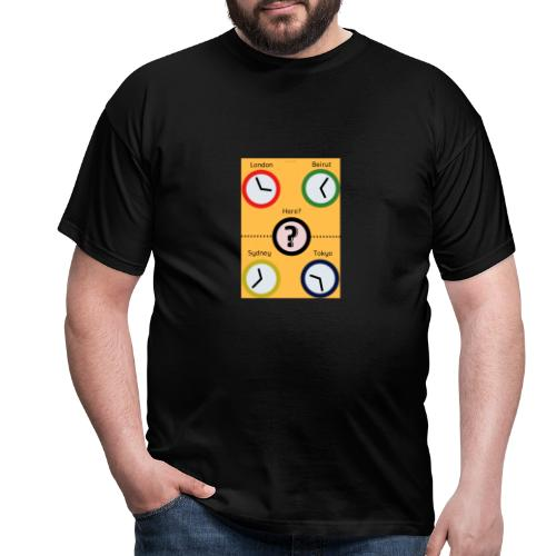 Zegary - Koszulka męska
