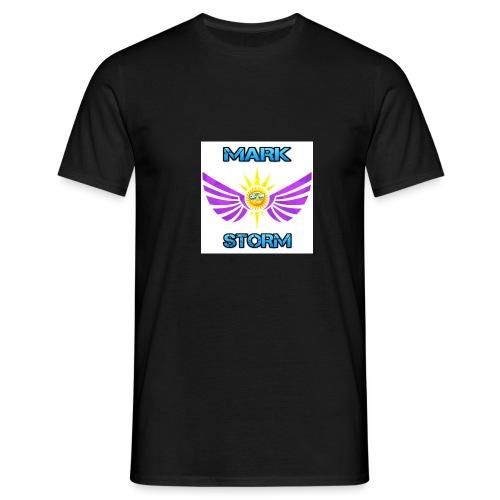 Mark Storm logo - Men's T-Shirt