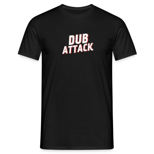 dub attack blanc rouge - T-shirt Homme