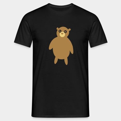 Kuscheltier Bär - Männer T-Shirt