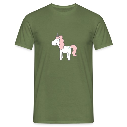 unicorn as we all want them - Herre-T-shirt