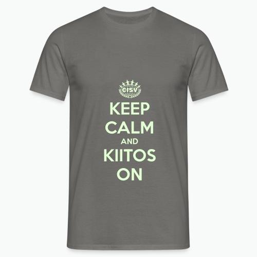keep calm and kiitos on - Männer T-Shirt