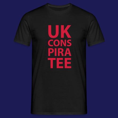 uk conspiratee 1c - Men's T-Shirt